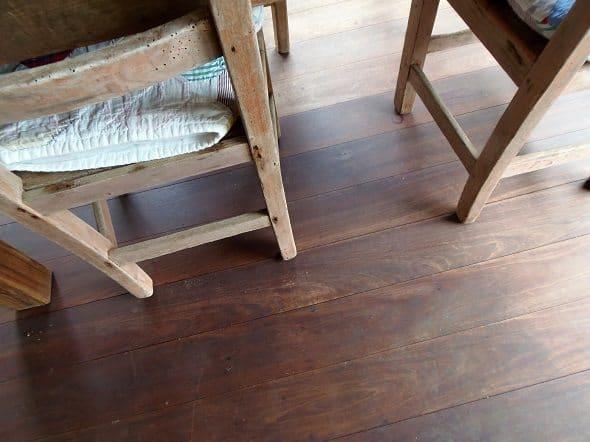 Ipe Porch Floor
