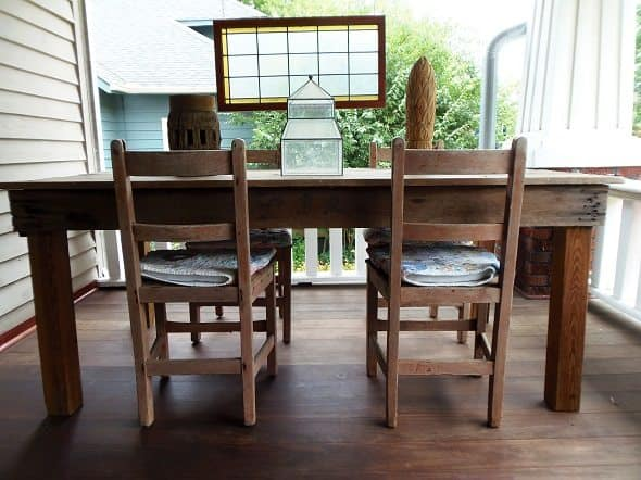 Large Farm Table