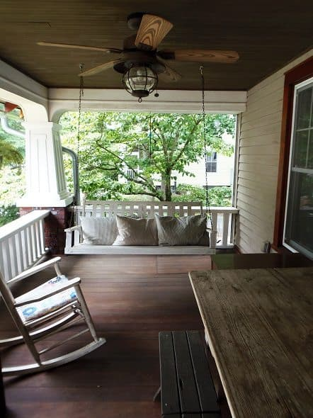 Front Porch - Looking Left