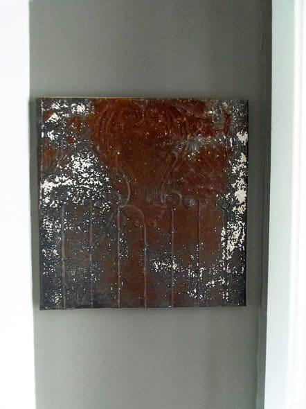 Ceiling Tin Art