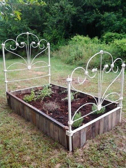 Finished Herb Garden