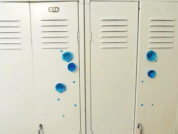 Front of Lockers