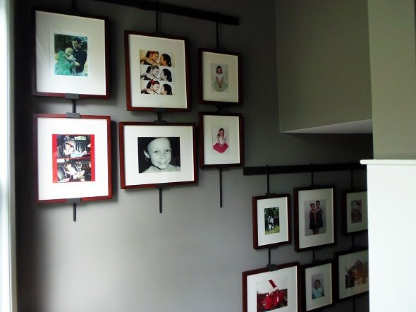 Gallery Wall Wide View