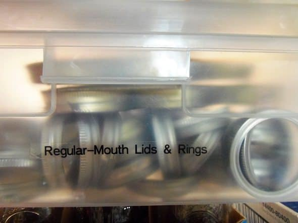 Regular-Mouth Lids and Rings