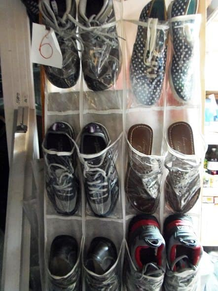 Shoe Stockpile