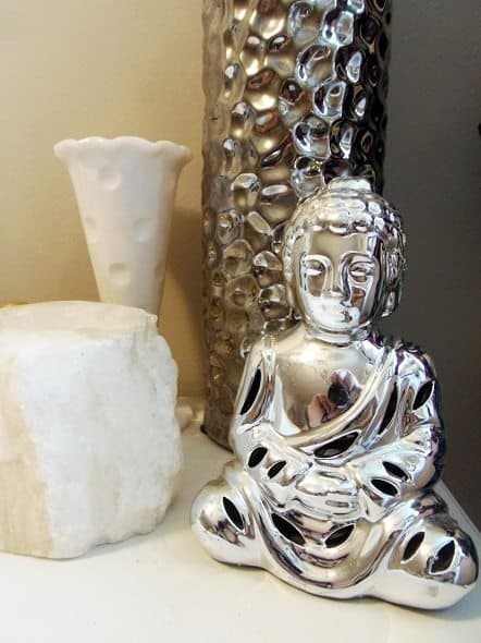 Silver Buddah