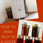 Making Jelly in a Juicer