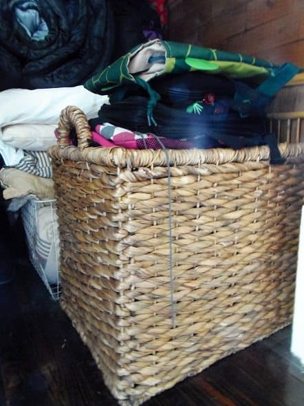 Basket of Bags