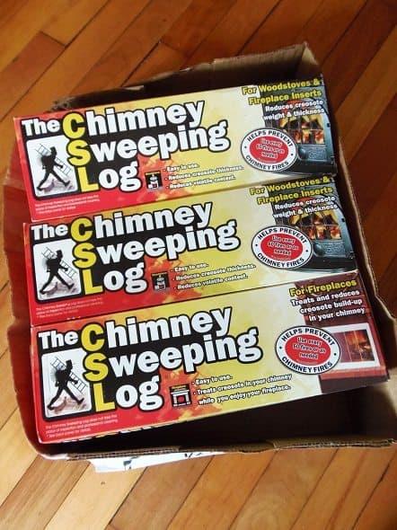 Chimney Sweeping Logs