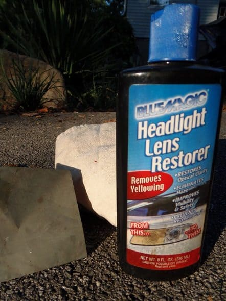 Blue Magic Headlight Lens Restorer