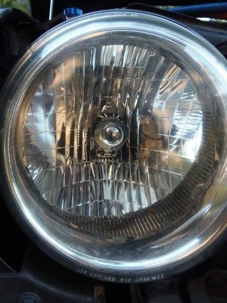 Restored Headlight