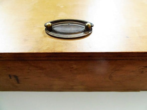 Vintage Maple Box