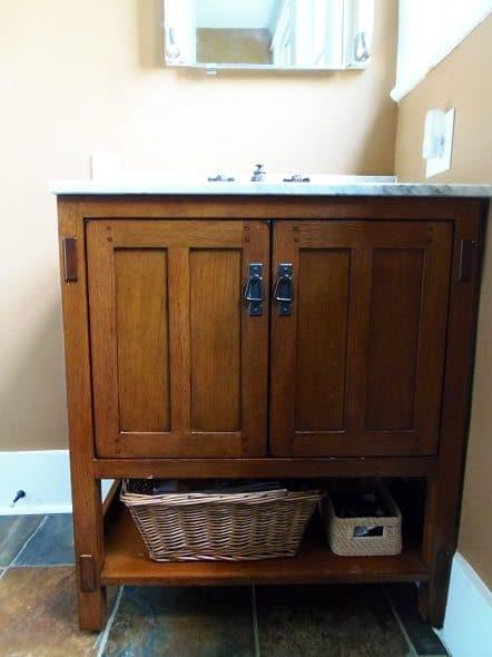 Craftsman Bathroom Vanity