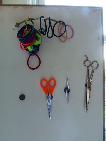 Inside of Medicine Cabinet Door
