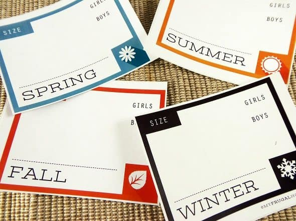 Kids' Clothing Labels