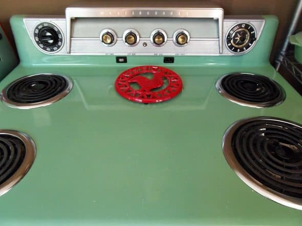 1957 Westinghouse Stove