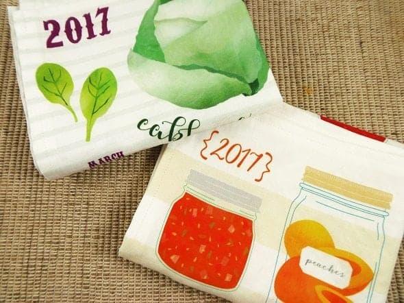 2017 Tea Towel Calendars