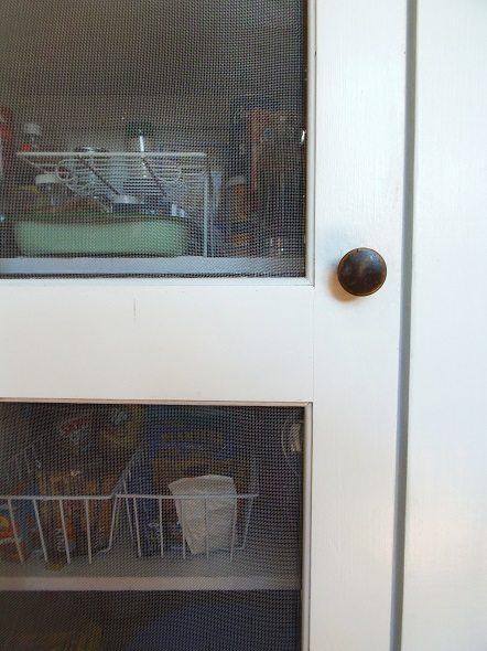 Closeup of Pantry Door