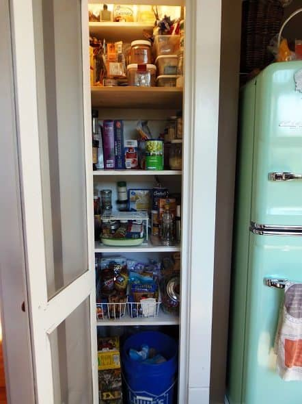 Inside of Pantry