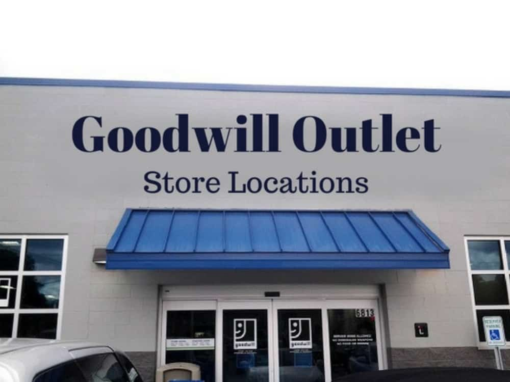 Goodwill Outlet Store Locations Graphic