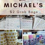Michael's $2 Grab Bags