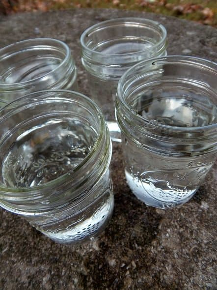 Add Water to Jars