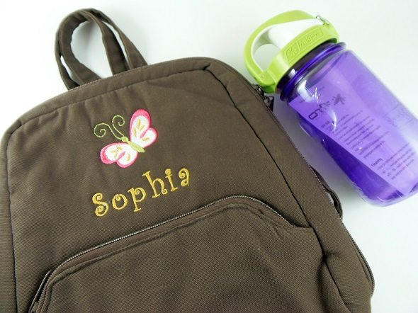 Thirty-One Backpack and Water Bottle