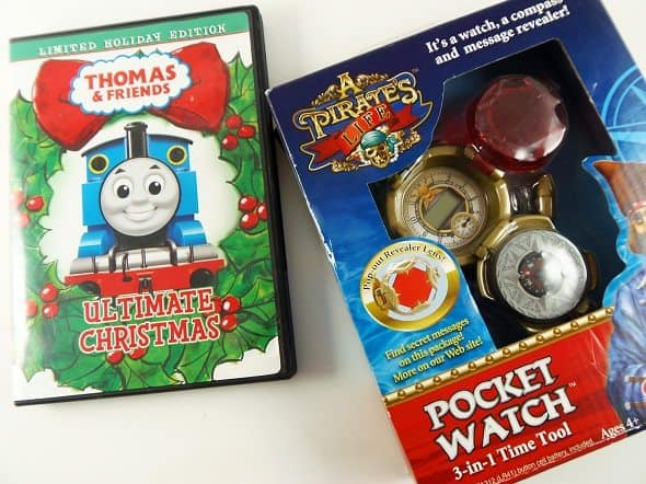 Christmas DVD and Toy