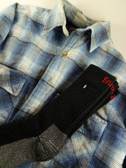 Flannel and Socks