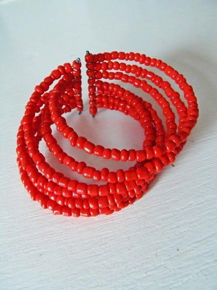 Red Fair Trade Bracelet