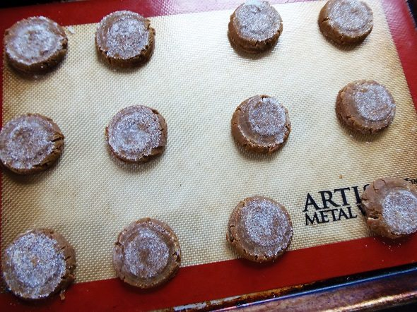 Unbaked Ginger Snaps