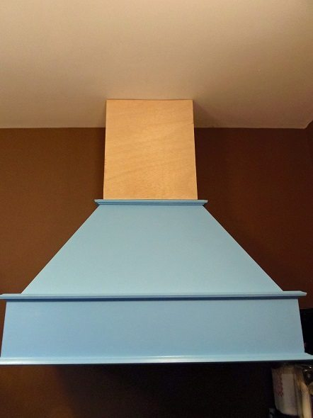 Building Top of Range Hood