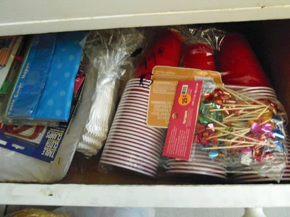 Cups and Other Party Supplies