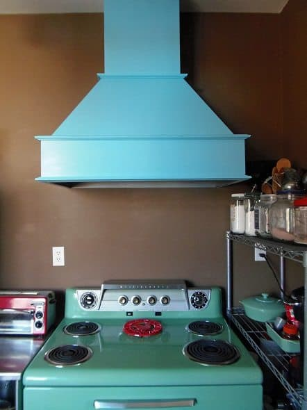 Finished Range Hood
