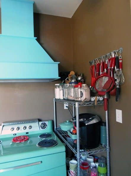 Stove and Range Hood