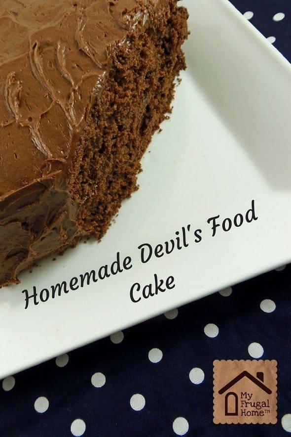 Devil's Food Cake Graphic