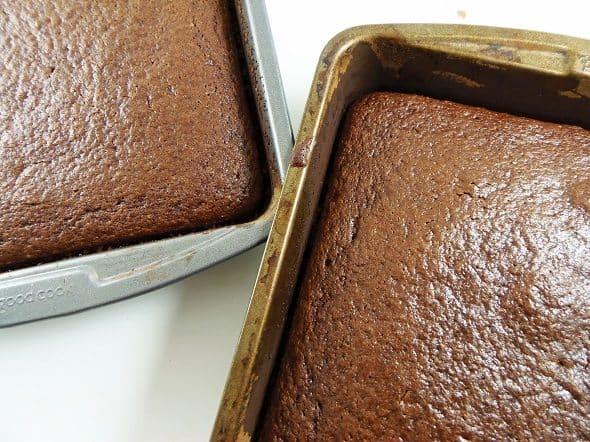 Baked Devil's Food Cake