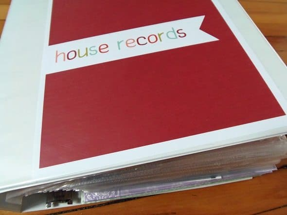 House Records Binder