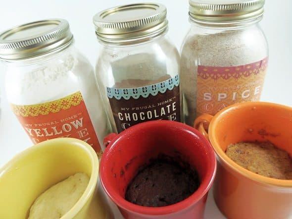 Mug Cake Mixes