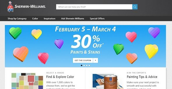 Sherwin-Williams Coupon