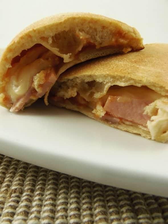 Ham Calzones