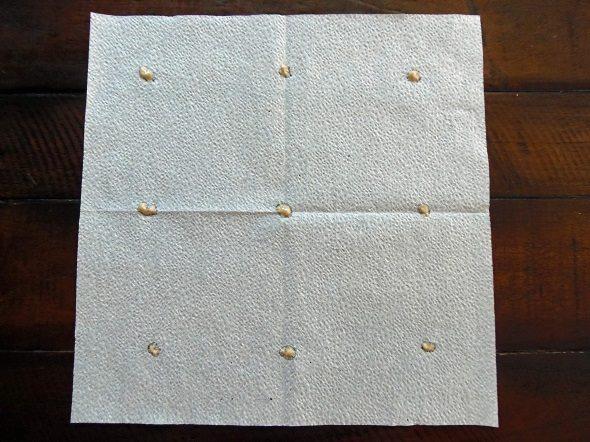 Apply a Dot of Paste to Each Spot