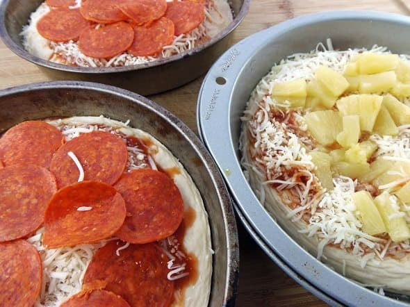 Add Pizza Toppings