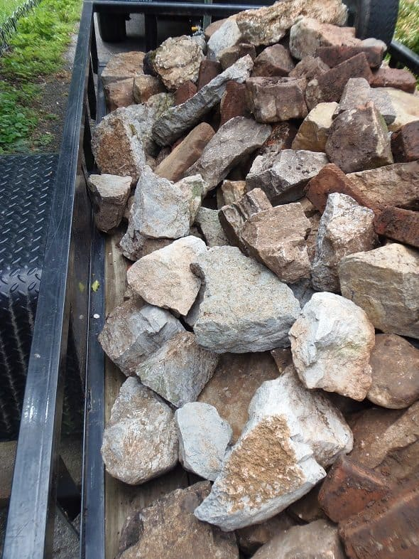 Free Load of River Rock