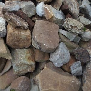Curb Find: Landscaping Rocks