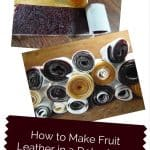 How to Make Fruit Leather in a Dehydrator