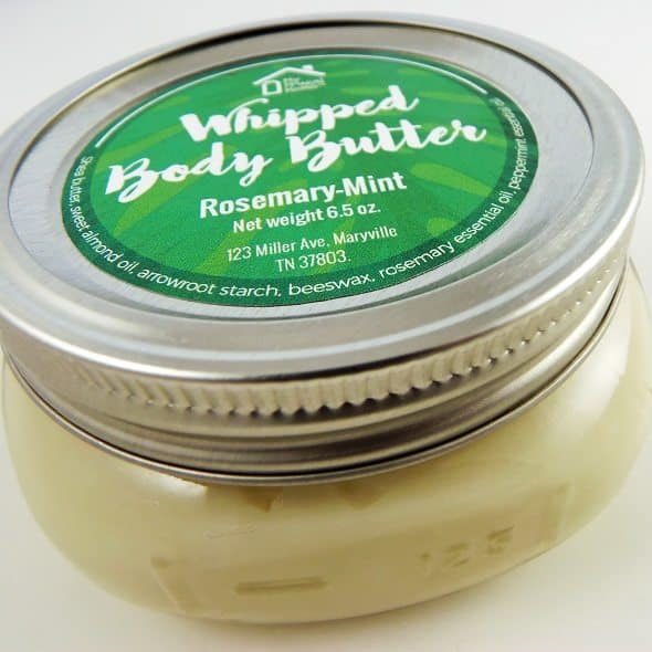 Rosemary-Mint Body Butter