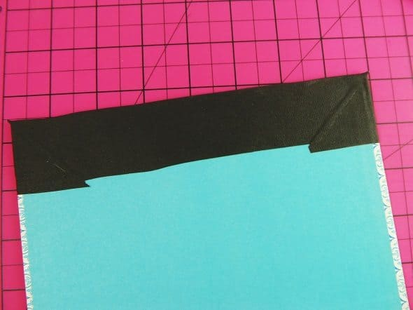 Fold the Binding Tape Down
