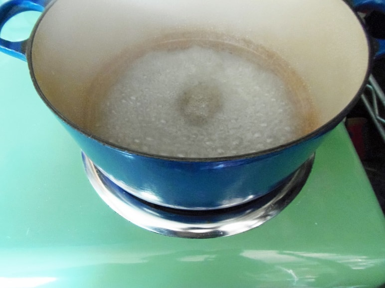 Boiling Sugar and Water