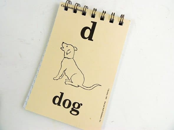 Dog Flashcard Notepad